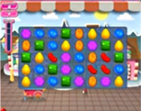 Candy Crush Saga Level 1 game