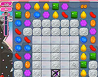 Candy Crush Saga Level 100 game