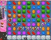 Candy Crush Saga Level 101 game