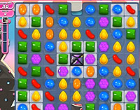 Candy Crush Saga Level 105 game