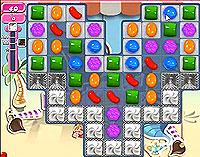 Candy Crush Saga Level 116 game
