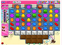 Candy Crush Saga Level 117 game