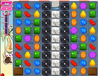 Candy Crush Saga Level 118 game