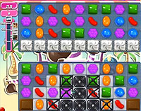 Candy Crush Saga Level 120 game
