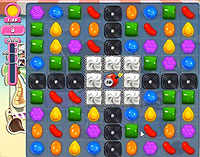 Candy Crush Saga Level 121 game
