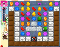 Candy Crush Saga Level 122 game