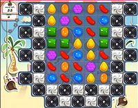 Candy Crush Saga Level 125 game