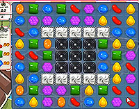 Candy Crush Saga Level 126 game