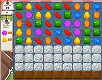 Candy Crush Saga Level 127 game