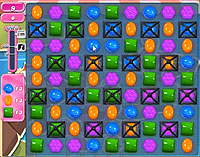 Candy Crush Saga Level 129 game
