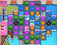 Candy Crush Saga Level 137 game