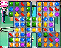Candy Crush Saga Level 14 game