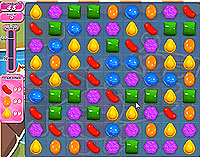 Candy Crush Saga Level 140 game