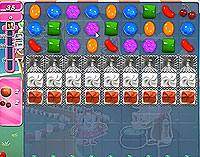 Candy Crush Saga Level 142 game