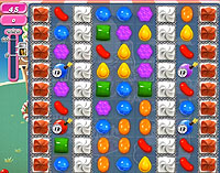 Candy Crush Saga Level 144 game
