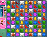 Candy Crush Saga Level 148 game
