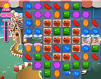 Candy Crush Saga Level 151 game