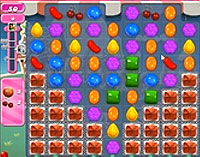 Candy Crush Saga Level 152 game