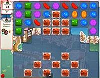 Candy Crush Saga Level 153 game