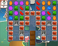 Candy Crush Saga Level 154 game