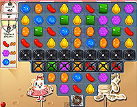 Candy Crush Saga Level 156 game