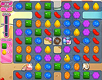 Candy Crush Saga Level 157 game