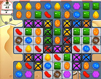 Candy Crush Saga Level 161 game