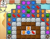 Candy Crush Saga Level 163 game