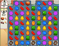 Candy Crush Saga Level 164 game