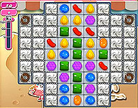 Candy Crush Saga Level 167 game