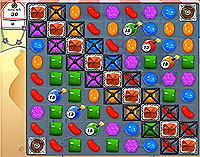 Candy Crush Saga Level 168 game
