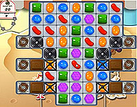 Candy Crush Saga Level 170 game