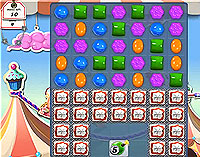Candy Crush Saga Level 172 game