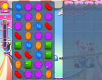 Candy Crush Saga Level 177 game