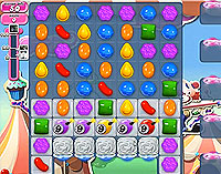 Candy Crush Saga Level 178 game