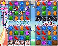Candy Crush Saga Level 182 game