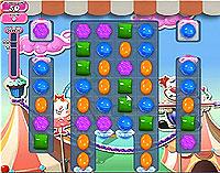 Candy Crush Saga Level 183 game