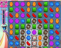 Candy Crush Saga Level 184 game