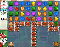 Candy Crush Saga Level 186 game