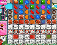 Candy Crush Saga Level 187 game