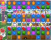 Candy Crush Saga Level 189 game