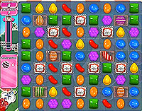 Candy Crush Saga Level 192 game