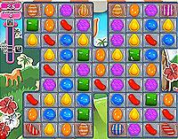 Candy Crush Saga Level 193 game
