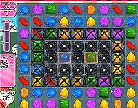 Candy Crush Saga Level 195 game