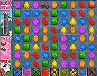 Candy Crush Saga Level 196 game
