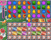 Candy Crush Saga Level 197 game
