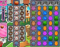 Candy Crush Saga Level 200 game