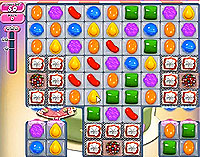Candy Crush Saga Level 201 game