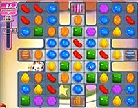 Candy Crush Saga Level 203 game