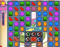 Candy Crush Saga Level 204 game